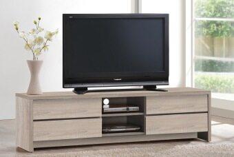 HK TV4143 TV Cabinet (White Oak)