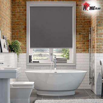 [Home Blind] *Limited Stock Offer* W107cm X H200cm / 100% Sun-BlockBlinds / Roller Blinds (Grey)