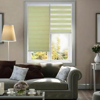 [Home Blind] Rainbow Blinds / Zebra Blinds / Korea Import / W76cm xH200cm / Roller Blinds / Window Blinds (Mint Green)