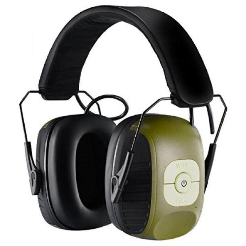 Homitt Electronic Noise Reduction Earmuff, Safety Hearing Protection Headphones with AUX Jack and Active Hunting Protection Equipment for Hunting, Shooting, Mowing Lawn and Listen to Music.