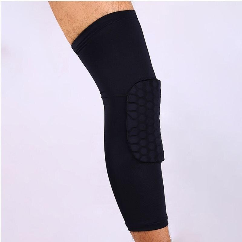 Buy Honeycomb Pad Crashproof Antislip Leg Knee Long Sleeve Guard Sports Basketball Malaysia