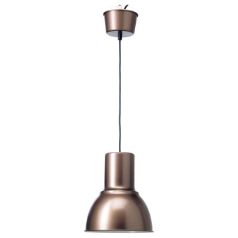ikea lighting pendant.  lighting ikea 60293364 hektar pendant lamp shade bronze with lighting e