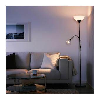IKEA NOT Floor Lamp uplighterreading lamp black white Lazada