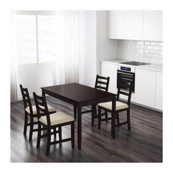 IKEA Solid Pine Wood Dining Table For Four