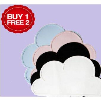 Harga {BUY 1 Mat GET 2 FREE Mat} Silicone Tablecloth Mat Cloud Plate-shaped Table Mat
