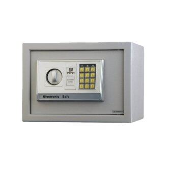 Harga Guardwell 25NW Office / Home Mini Electronic Safe Box - Silver