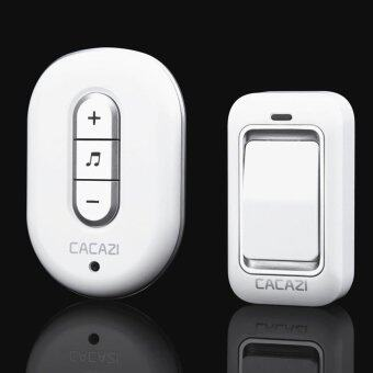 Harga High quality 48 Tunes Wireless Cordless Doorbell Remote Door Bell Chime,No need battery,Waterproof