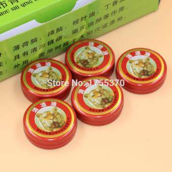 Harga 80pcs Tiger Balm Essential Oil Treatment Of Influenza Cold Headache Dizziness Summer Mosquito, Cool and Antipruritic