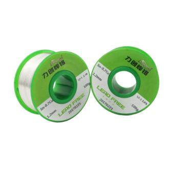 Harga 1*100g/rool lead free solder wire 0.8mm