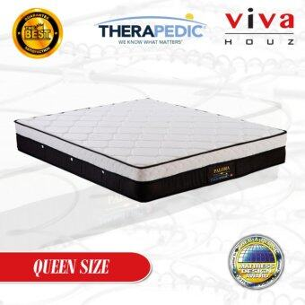 Harga Therapedic, USA, Paloma Spring Luxurious Mattress, 25cm / 10'' Thick (Queen)