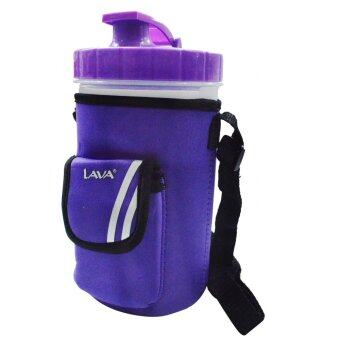 Harga Lava TB219 1200ML Water Tumbler With Easy Carry Bag (Purple)