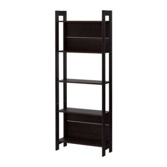 Harga IKEA: LAIVA Bookcase (Black-Brown)