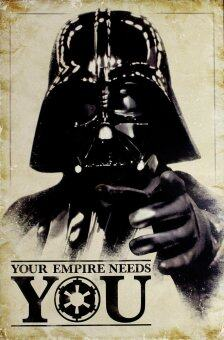 Harga Star Wars (Your Empire Needs You) - Pyramid International Poster (61 cm X 91.5 cm)