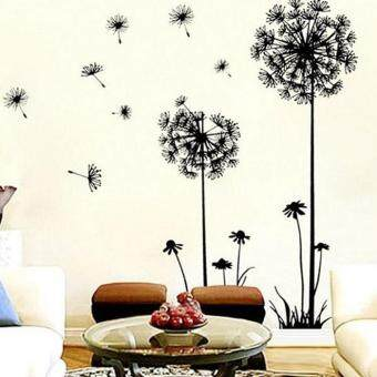 Harga New Creative Dandelion Wall Art Decal Sticker Removable Mural PVC Home Decor Gift
