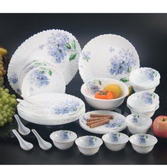 Harga 33-C DINNER SET OPAL GLASS FRANCE 30696