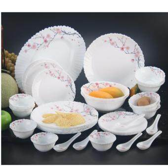 Harga 33-C DINNER SET OPAL GLASS FRANCE 10696