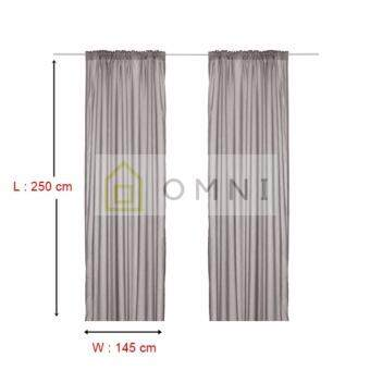 Harga IKEA Vivan - Curtains (1 pair)