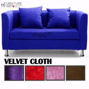 Harga F&F: LOUISSE Sitting Room Concept Furniture 3 Seater Lax & Soothed Settee - Sofa Design