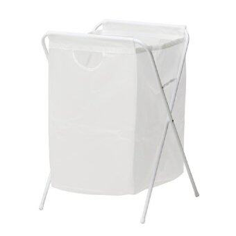 Harga IKEA: JALL Laundry Bag with Stand - White