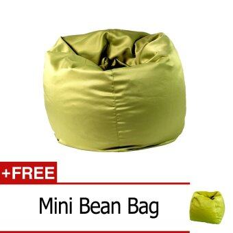 Harga Bean Bag Green Standard + Free Gift Mini Bean Bag Green