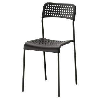 Harga Ikea 702.142.86 Adde Dining Chair (Black)
