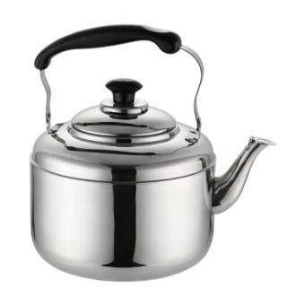 Harga 5L whistling kettle stainless steel kettle household heat on gas / induction cooker general kettle