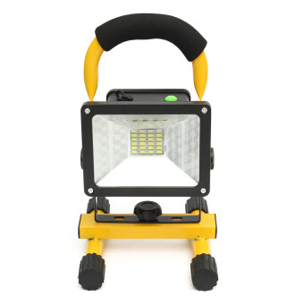 Harga 30W 24LED Portable Rechargeable Outdoor Camp Flood Light Spot Work Trouble Lamp