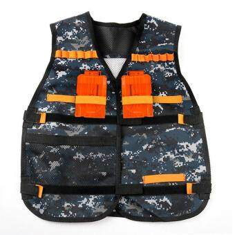 Harga LALANG Nerf Tactical Vest for Nerf N-strike Elite Series Jacket (Camouflage)