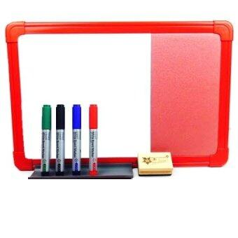 Harga WriteBest Dual Board Set (1x1.5 feet) - Red