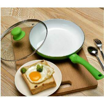 Harga non-stick frypan cooking utensil induction use frying pan 24CM