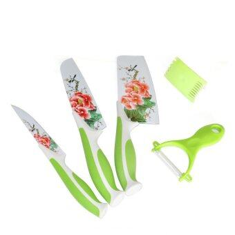 Harga Chinese Style 5 pcs Kitchen Knife Set Stainless Steel Knives Only For Kitchen