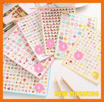 Harga Korean 'Mini Assorted Sticker' - Zakka/Diary/Photobook DIY Nice Day