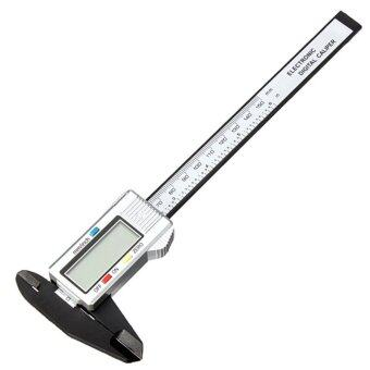 Harga 6 Inch 150mm Carbon Fiber Composite Digital Electronic Caliper Ruler
