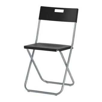 Harga IKEA Folding Chair Black