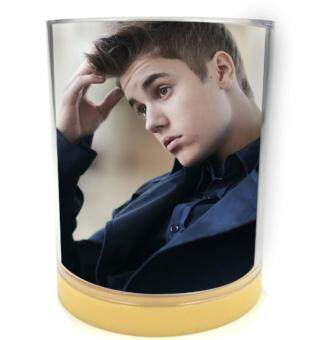 Harga Pen Holder Container Justin Bieber--0336 for Pencil Pot Cylinder Desk Organizer Office Accessories School Supplies
