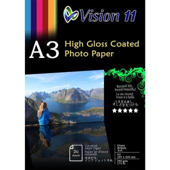 Harga 5x A3 High Glossy Photo Paper 260gsm (20pcs/pkt)