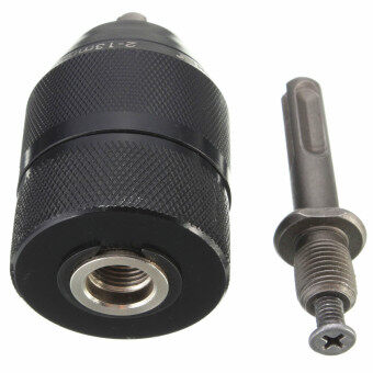 Harga 13MM Professional HSS Keyless Drill Chuck with SDS Adaptor Hardware Tool Part