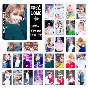 Harga Twice Cheer Up MOMO Album Kpop LOMO Cards New Fashion Self Made Paper Photo Card HD Photocard LK433