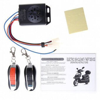 Harga Motorcycle Motorbike Scooter Anti-theft Security Remote Waterproof Host Alarm (Host waterproof version)