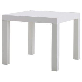 Harga IKEA Side Table, Modern End (White)