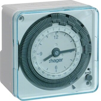 Harga Hager EH711 24hrs 13A Plug-in Timer