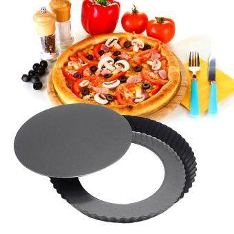 Harga 8 Inch Round Baking Mould Pizza Cake Shallow Non Stick Pan Tray
