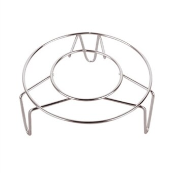 Harga Home Kitchen Cooking Stainless Steel Round Cooker Steamer Rack Stand