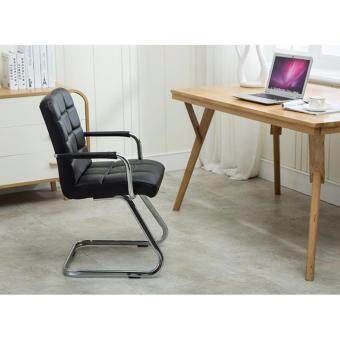 Harga Full Leather Z leg Design Stylish Chair