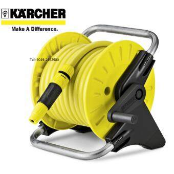 Harga Karcher PROMO HR25-15M-1/2in Garden Hose Reel With Hose 2.645-118 {Made in Italy}