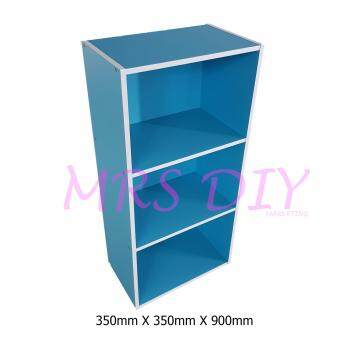 Harga MRS DIY BOOK SHELF - COLOUR BOX (BLUE)