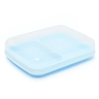 Harga Double Box Bathroom Bath Shower Wash Soap Holder Case Dish Plate Tray Container