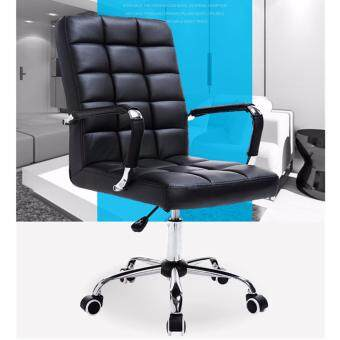 Harga Large Size Full Leather Comfort & Ergonomic Swivel Chair