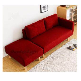 Harga Home and Living : Descanso Sofa 123 Design - 2 Seater L Shape without Stool