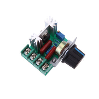 Harga 2000W AC50-220V SCR High-power Electronic Voltage Regulator Module
